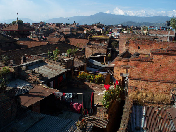 Bhaktapur roof view