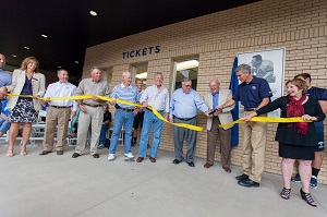 Marv Kay Stadium Ribbon Cutting