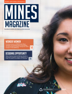 Mines Magazine summer 2018 cover