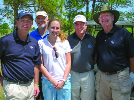 Houston-Area Alumni's Scholarship Golf Tournament a Solid Success