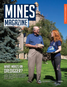 Mines Magazine fall 2019 cover